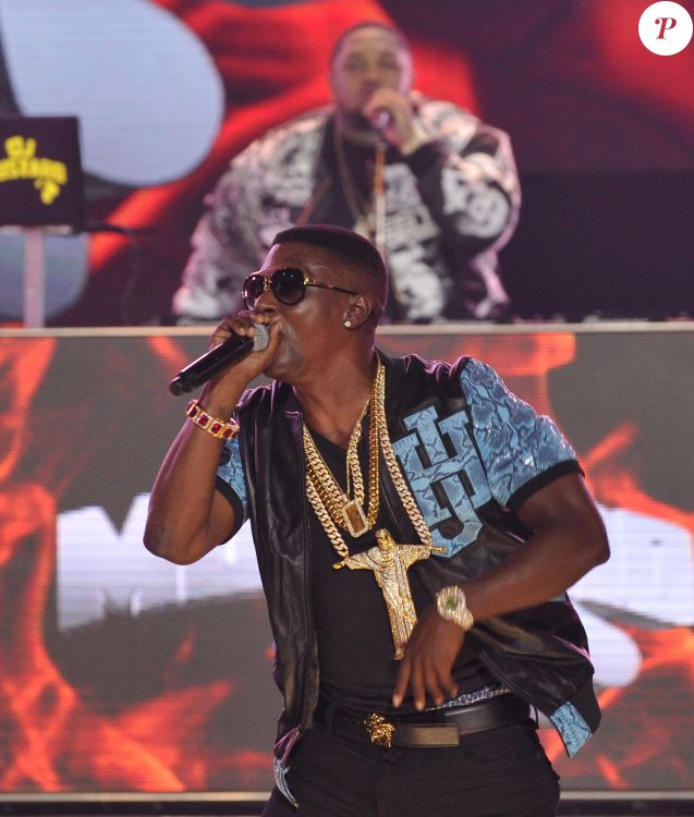 Boosie BadAzz aux BET Hip Hop Awards 2014.