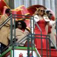 Mariah Carey participe à la parade de Thanksgiving à New York le 26 novembre 2015.