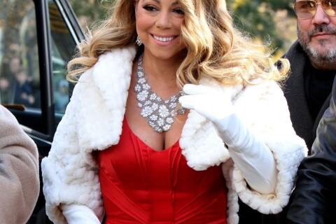 Mariah Carey star de la parade Macy's devant Eva Longoria et Nick Jonas