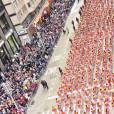 """La 89ème """"Macy's Thanksgiving Day Parade"""" à New York, le 26 novembre 2015."""
