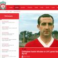 Gerry Byrne, légende du club de Liverpool, est mort le 28 novembre 2015. Il était atteint de la maladie d'Alzheimer.