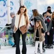 Alessandra Ambrosio : Reine de la glisse en famille !