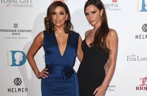 Eva Longoria et Victoria Beckham : Chic dîner entre copines au Global Gift Gala