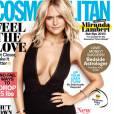 """""""Retrouvez l'intégralité de l'interview de Miranda Lambert en couverture du magazine Cosmopolitan, en kiosques le 8 décembre aux Etats-Unis."""""""
