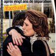 Les retrouvailles de Linda de Suza et son fils João Lança en couverture de France Dimanche, en kiosques le 28 mars 2014.