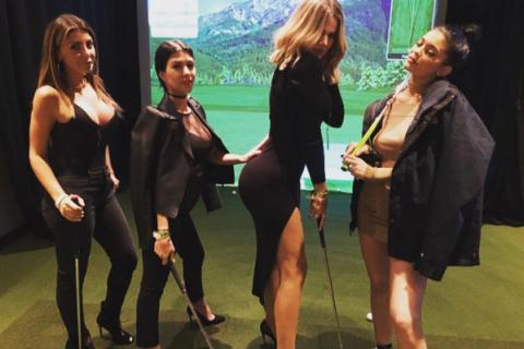 Les soeurs Kardashian : Kourtney, Khloé, Kendall et Kylie s'éclatent, sans Kim !