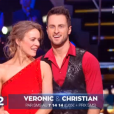 """Véronic DiCaire et Christian Millette, éliminés de """" Danse avec les stars 6"""" , le samedi 12 décembre 2015."""