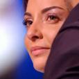 """Priscilla Betti en larmes dans """"Danse avec les stars 6"""" sur TF1, le 12 décembre 2015."""