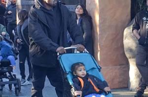 Kanye West et North : Père et fille à Disneyland pour un après-midi en famille