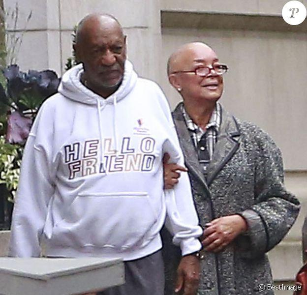 Exclusif - Bill Cosby et sa femme Camille le 22 novembre 2015 à Boston