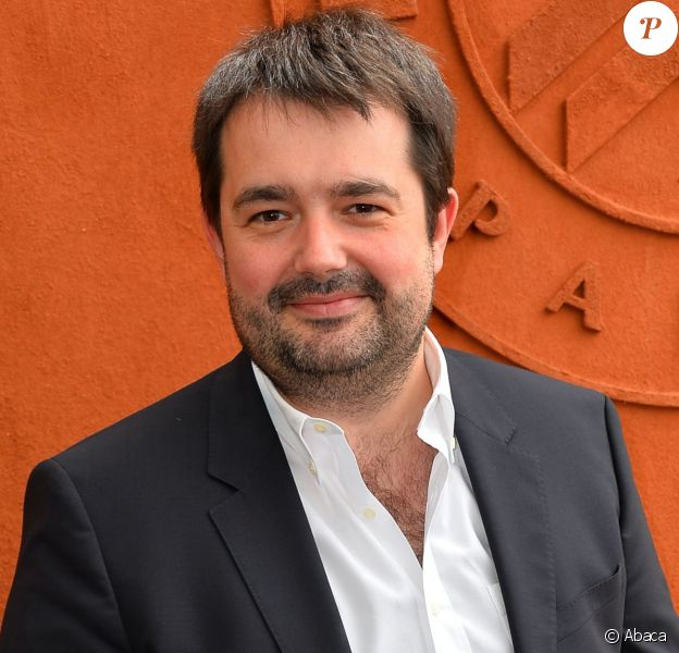 Jean-François Piège à Roland-Garros à Paris, le 29 mai 2015.
