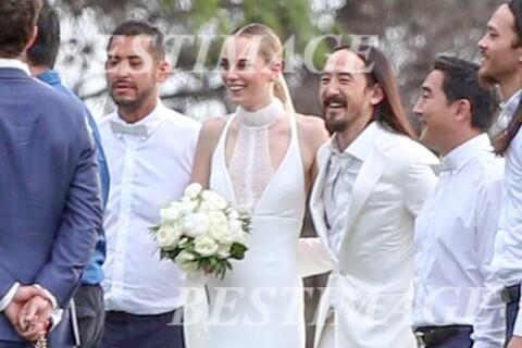 Steve Aoki : Le DJ s'est marié à un superbe mannequin, découvrez les photos !