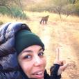 Eva Longoria : selfie sans maquillage devant un tigre, en Inde