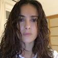 Salma Hayek sans maquillage. Photo postée le 15 décembre 2015.