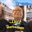 Parodie de la télé-réalité  Les Ch'tis vs Les Marseillais , dans les  Guignols de l'Info  sur Canal+, le lundi 14 décembre 2015.