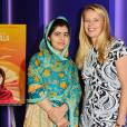 """Exclusif - Malala Yousafzai et la princesse Mabel des Pays-Bas (Membre du Conseil consultatif de la fondation Malala) - Projection du film """"He named me Malala"""", organisée par la fondation Malala, à Londres. le 22 octobre 2015  Exclusive - For Germany Call for price - 22 October 2015. Special Screening of 'He Named me Malala' attended by Malala Yousafzai and family, hosted by The Malala Fund22/10/2015 - Londres"""
