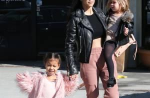 Les Kardashian : North West et ses cousins vous souhaitent de joyeuses Fêtes !