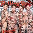 Les garçons de 5 Seconds of Summer nus en couverture de Rolling Stone