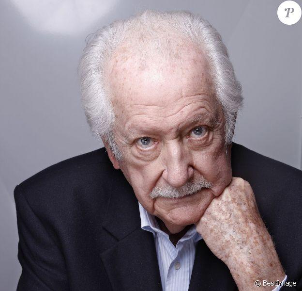 Portrait de Pierre Bellemare 2015.