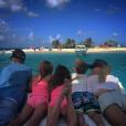 Justin Bieber, son petit frère et sa petite-amie supposée Hailey Baldwin en vacances à Saint-Barth / photo postée sur Instagram, le 3 janvier 2016.