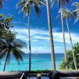 Un petit coin de paradis à Phuket - Johnny Hallyday en famille en Thaïlande, décembre 2015.