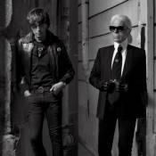 Karl Lagerfeld et Hedi Slimane : Face-à-face de légende