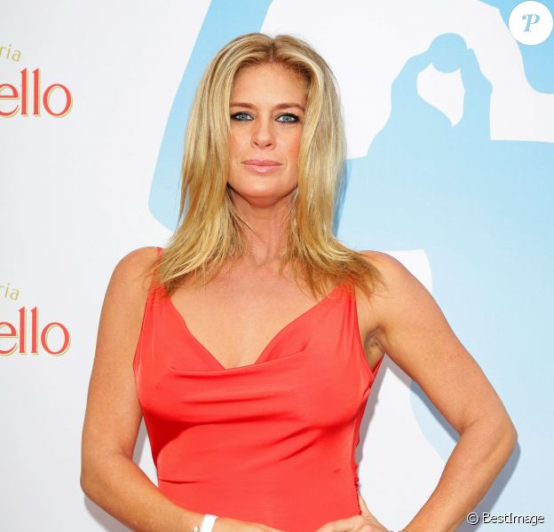 "Rachel Hunter - People au ""Raffaello Summer Day"" à Berlin. Le 21 juin 2014"