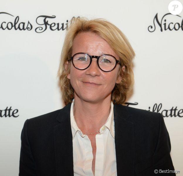 Ariane Massenet, à l'Atelier Richelieu à Paris, le 15 avril 2015.