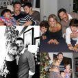 LeAnn Rimes a publié sur sa page Instagram une photo d'elle en compagnie de son mari Eddie Cibrian et ses deux enfants, provoquant la colère et la souffrance de son ex-femme Brandi Glanville. Photo publiée sur les réseaux sociaux au mois de novembre 2015.