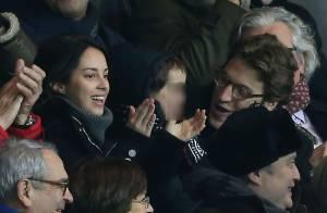 PSG-Lyon : Jean Sarkozy supporter ravi avec sa belle Jessica et leur fils Solal