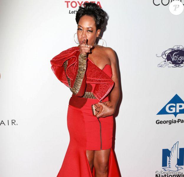 """Tichina Arnold lors de la soirée """"2014 Ebony Power 100 List"""" à Hollywood, le 19 novembre 2014."""