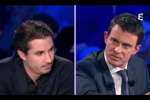 Manuel Valls interpellé par Jérémy Ferrari : Tensions dans On n'est pas couché !