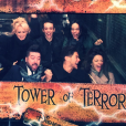 Alizée, Grégoire Lyonnet, Rayane Bensetti, Denitsa Ikonomova, Chris Marques et Jaclyn Spencer réunis à Disneyland Paris le 31 décembre 2015. Un réveillon féerique.
