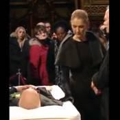 Céline Dion : Larmes et courage auprès du cercueil de René Angélil