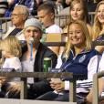 Exclusif - Michael Bublé est allé voir un match de football de l'équipe des Whitecaps avec son fils Noah à Vancouver. Le 26 août 2015 © CPA / Bestimage 1