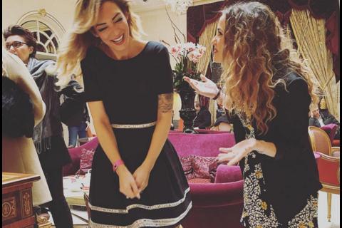 Emilie Nef Naf et Capucine Anav : Duo complice et hilare pour Top Model Belgium