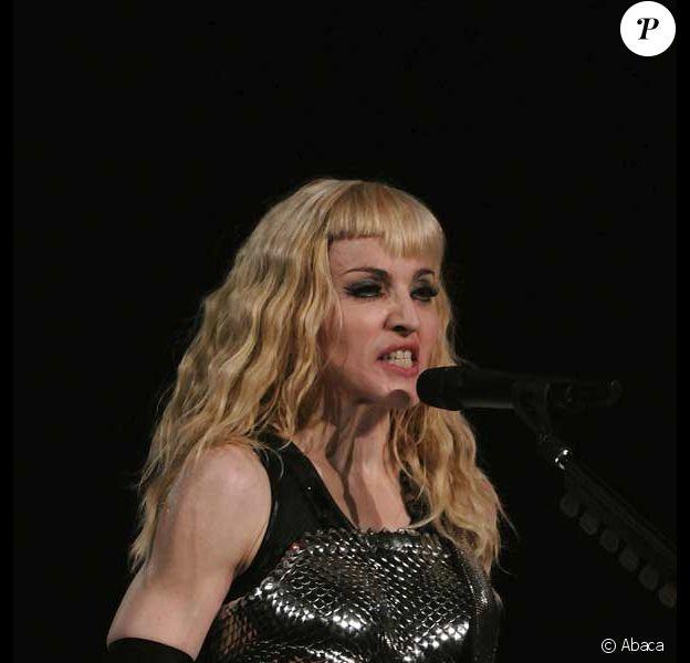 Madonna avec une frange