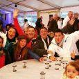 """Adel (""""Top Chef 2015""""), toujours amoureux de Vanessa. Photo prise à Châtel, en Haute-Savoie, à l'occasion du Festival international de la Gastronomie. Janvier 2016."""