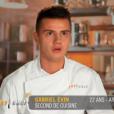 """Gabriel Evin - """"Top Chef 2016"""", prime du lundi 25 janvier 2016, sur M6."""