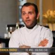 "Franck Radiu - ""Top Chef 2016"", prime du lundi 25 janvier 2016, sur M6."