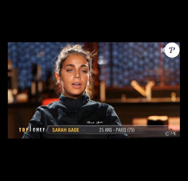 """Sarah Gade - """"Top Chef 2016"""", prime du lundi 25 janvier 2016, sur M6."""