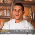 """Kevin Roquet - """"Top Chef 2016"""", prime du lundi 25 janvier 2016, sur M6."""