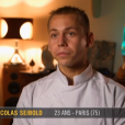 "Nicolas Seibold - ""Top Chef 2016"", prime du lundi 25 janvier 2016, sur M6."