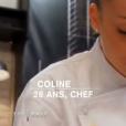 """Coline Faulquier - """"Top Chef 2016"""", prime du lundi 25 janvier 2016, sur M6."""