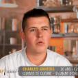 """Charles Gantois - """"Top Chef 2016"""", prime du lundi 25 janvier 2016, sur M6."""