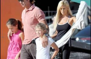 REPORTAGE PHOTOS : Lorenzo Lamas retrouve... femme et enfants !