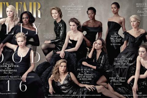Jennifer Lawrence, Charlotte Rampling, Lupita Nyong'o... Vanity Fair et girl power