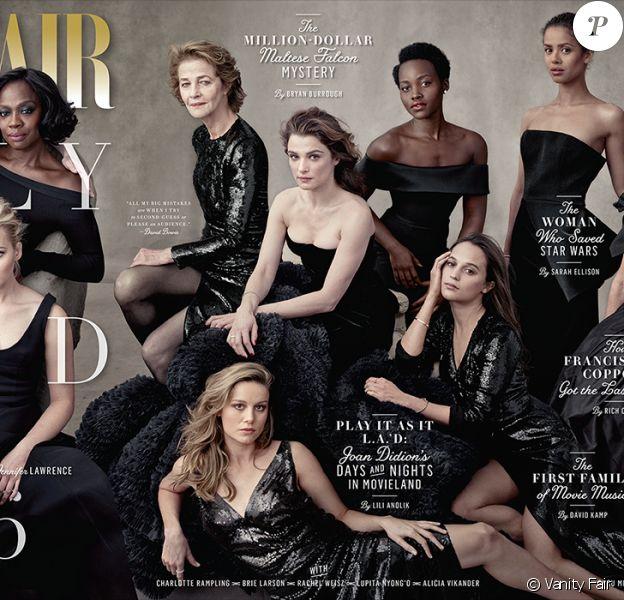Couverture du numéro spécial de Vanity Fair consacré cette année aux femmes.