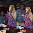 Tony Steward, linebacker des Buffalo Bills en NFL ici lors de sa demande en mariage en décembre 2015, a fait part le 2 février 2016 de la mort de sa fiancée Brittany Burns, emportée en moins de deux mois par un cancer de l'ovaire. Photo Instagram Tony Steward 2015.