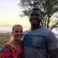 Tony Steward, linebacker des Buffalo Bills en NFL, a fait part le 2 février 2016 de la mort de sa fiancée Brittany Burns, emportée en moins de deux mois par un cancer de l'ovaire. Photo Instagram Tony Steward 2015.